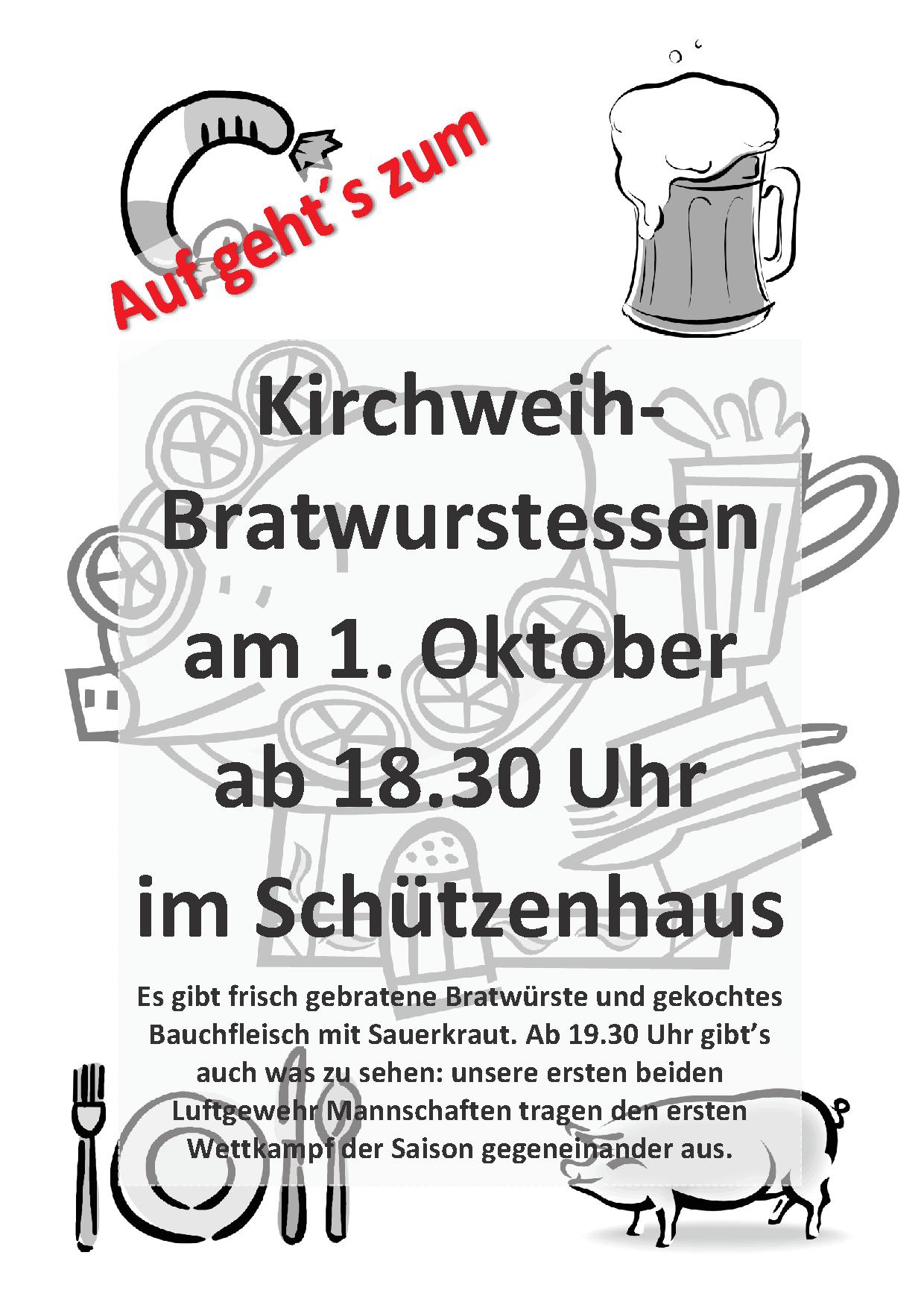 Bratwurstessen_Plakat